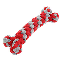 Dog Toy Pet Toys Chew Toy Teeth Cleaning Toy Rope Woven Textile For Pets