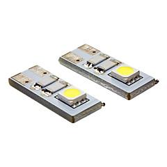 preiswerte LED-Birnen-20-80 lm LED Spot Lampen 2 Leds SMD 5050 Kühles Weiß Wechselstrom 12V