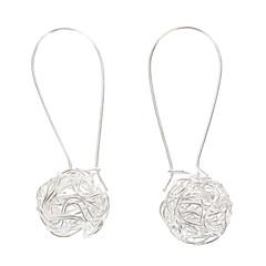 preiswerte Ohrringe-Damen Tropfen-Ohrringe - versilbert Silber Für Party / Alltag