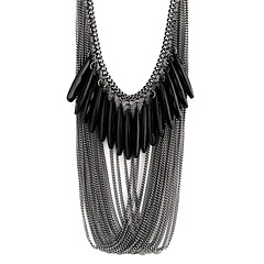 cheap Necklaces-Women's Statement Necklace - Multi Layer Fashion Drop Necklace For Party