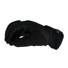 قفازات الدراجة قفازات التزلج للرجال اصبع كامل الدفء يمكن ارتداؤها متنفس واقي مضاد للانزلاق البوليستر التزلج التسلق أخضر/الدراجة التخييم