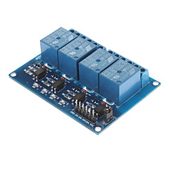 DC 5V 4-kanałowy moduł przekaźnikowy z Transoptor do Arduino PIC ARM AVR DSP