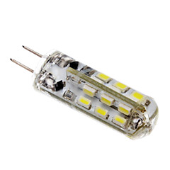 2W G4 LED Corn Lights T 24 leds SMD 3014 Warm White Cold White 150lm 3500/6000K DC 12V