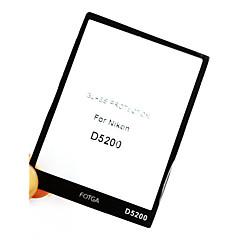 fotga® prémium LCD-képernyő védő üveg nikon d5200