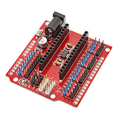 halpa Emolevyt-Multi-Function Funduino Nano Shield Nano Sensor Expansion Board