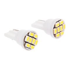 T10 Carro Branco Frio SMD LED 6000 Luz Instrumento Luz de Matricula Luz de Sinal de Direcção Luz de Travão
