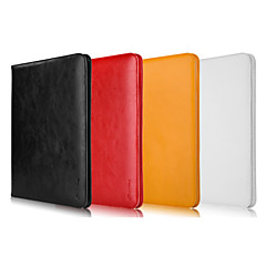 billige Etuier / Covers Til iPad Air-Solid Color Elegant Full Body Læder Taske til iPad Air (assorterede farver)
