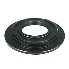 Black C-Mount Cine Movie lens to Canon EOS M Camera Lens Adapter Ring CCTV lens