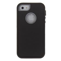 Недорогие Кейсы для iPhone 4s / 4-Кейс для Назначение Apple iPhone X / iPhone 8 / iPhone 8 Plus Защита от удара Чехол броня Твердый ПК для iPhone X / iPhone 8 Pluss / iPhone 8