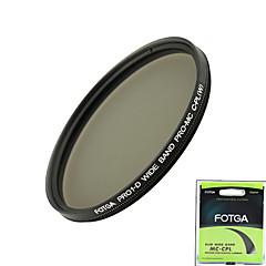 fotga® pro1-d 58mm ultratunn mc multibelagda cpl cirkulär polariserande lins filter