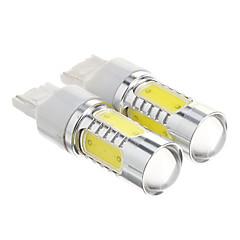 preiswerte LED Autobirnen-T20 Cool White Light LED-Birnen für Auto (12-30V, 2 Stück)