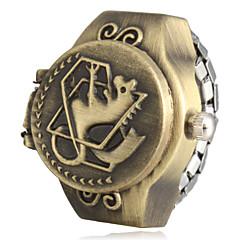 preiswerte Damenuhren-Damen Quartz Band Schwarz / Braun / Bronze - Schwarz Braun Bronze