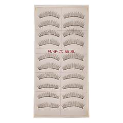 billiga Sminkredskap för ögonfransar-Andra Volym Naturlig Ögonfrans Klassisk Hög kvalitet Enkellock Dagligen
