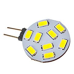 G4 LED-kohdevalaisimet 9 ledit SMD 5730 120-150lm Kylmä valkoinen 6000-6500