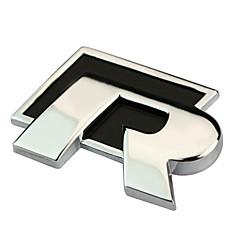 hesapli -RT Metal R Sticker