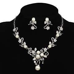 Conjunto de joyas De mujeres Aniversario / Boda / Pedida / Cumpleaños / Regalo / Fiesta / Ocasión especial Sets de Joya AleaciónPerla