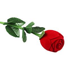 Romantic bijuterii Red Rose Box Pentru Propunere Ring