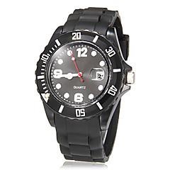 preiswerte Damenuhren-Damen Armbanduhr Armbanduhren für den Alltag Plastic Band Süßigkeit / Freizeit / Modisch Schwarz / Weiß / Grün / Ein Jahr / SSUO SR626SW