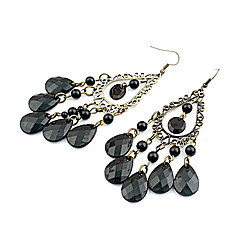 Women's Drop Earrings Bohemian Costume Jewelry Acrylic Alloy Drop Jewelry For Party Daily