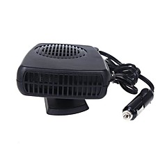 abordables Cuidado Exterior-coche vehículo auto calentador de ventilador eléctrico 12v demist desempañador calefacción parabrisas 200w