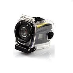 abordables Cámaras deportivas-G328 Mini impermeable HD 720P 5.0 MP CMOS LCD del deporte del salto de la cámara de la videocámara DVR