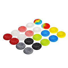 cheap PS3 Accessories-20pcs 10 colors Thumbstick Grips Skin Cover for PS3 XBOX 360 One WII U (Assorted Colors)