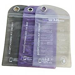iPhone 5/5S用のソリッドカラーの防水ビニール袋(ランダムカラー)