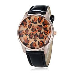お買い得  大特価腕時計-女性用 クォーツ バンド ブラック / 白 - ホワイト ブラック