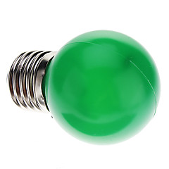 0.5W E26/E27 LED Globe Bulbs G45 7 leds Dip LED 50lm Green Decorative AC 220-240