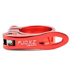 FJQXZ aluminium legering Red Bicycle Zadelpenklem