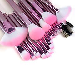 22-osainen ammattilaisten korkealaatuinen meikkisivellinsarja pinkillä varrella