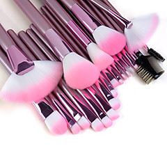 Perie machiaj 22PCS profesionale de inalta calitate Set cu mâner roz