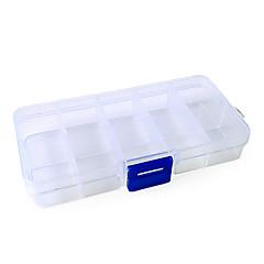 תא 2x5 מקרה קופסא לאחסון ריק טיפים לאמנות סט ציפורניים שקר
