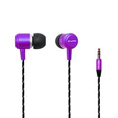 billige Høretelefoner (ørepropper, In-Ear)-AWEI AWei - Q35 I øret Ledning Hovedtelefoner Plast Mobiltelefon øretelefon Støj-isolering Headset