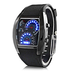 cheap -Men's Wrist Watch Digital Black Calendar / date / day Creative Digital Dark Blue Brown Light Blue Two Years Battery Life / Panasonic CR2032
