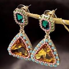 preiswerte Ohrringe-Damen Kristall Tropfen-Ohrringe - Krystall, Harz, Strass Für Party Alltag Normal