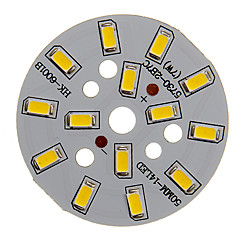 cheap -7W 600-650LM Warm White Light 5730SMD Integrated LED Module (21-24V)