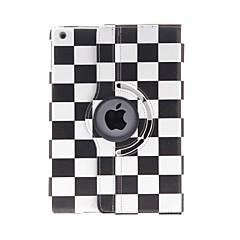 billige Etuier / Covers Til iPad Air-Etui Til iPad Air Med stativ 360° Rotation Mønster Fuldt etui Geometrisk mønster PU Læder for iPad Air