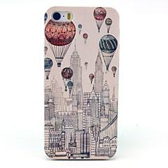 Για Θήκη iPhone 5 Με σχέδια tok Πίσω Κάλυμμα tok Μπαλόνι Σκληρή PC iPhone SE/5s/5