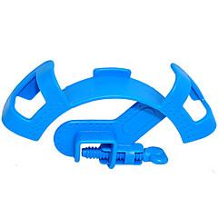 abordables Accesorios para Acuarios y Peces-Fish Tank Abrazaderas Plástico Azul