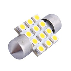abordables Luces Interiores de Coche-SO.K 1 Pieza Coche Bombillas 3 W SMD LED Luces interiores