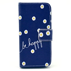 cheap iPhone 5S / SE Cases-Case For iPhone 5 Apple iPhone 5 Case Card Holder Wallet with Stand Flip Pattern Full Body Cases Flower Hard PU Leather for iPhone SE /