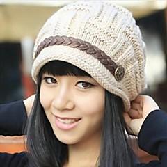 ζεστό χειμώνα πλεκτό καπέλο γυναικών