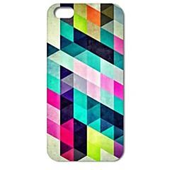Недорогие Кейсы для iPhone-красочные ромба головоломка жесткий футляр для iPhone 4 / 4s