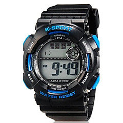 Kids' Sport Watch Wrist watch Casual Watch Quartz LED Silicone Band Casual Black