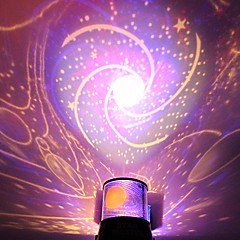 abordables Super venta de LED-diy estrella galaxia romántico cielo estrellado proyector luz para celebrar la fiesta