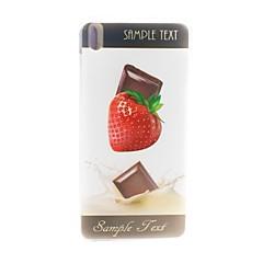 For HTC etui Mønster Etui Bagcover Etui Frugt Blødt TPU HTC