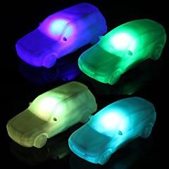 お買い得  LED アイデアライト-LEDナイトライト 防水 バッテリー PVC 1ライト 電池付き 10.0*3.8*3.0cm