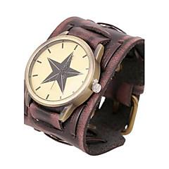 Men's Personalized Retro Leather Bracelet Watch Wrist Watch Cool Watch Unique Watch Fashion Watch