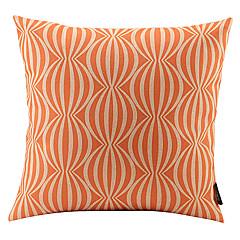 oranssi vesimeloni liittyy puuvilla / pellava koriste tyyny
